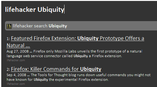 Make Ubiquity Your Ultimate Firefox Commander