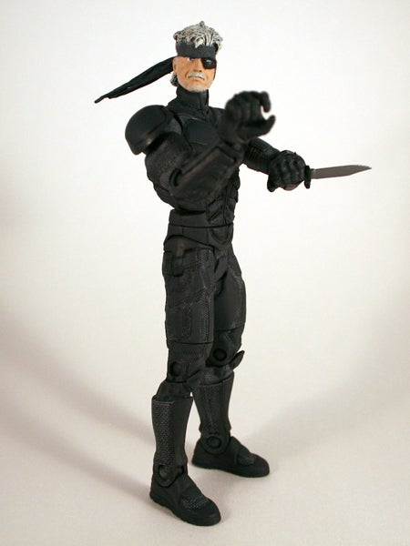 MGS4's Old Snake Action Figure