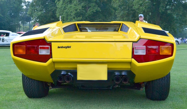 Name that Lambo.... Eleven Specimens Grace the Concours Show Field