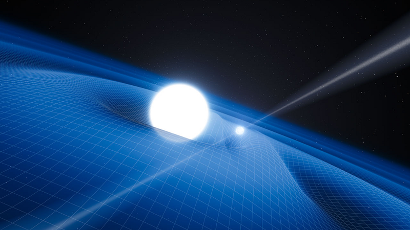 Freakish Pulsar Reaffirms Einstein's General Theory of Relativity
