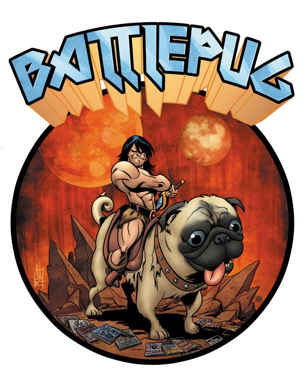 In this week's comics, it's Batmen and Battlepugs