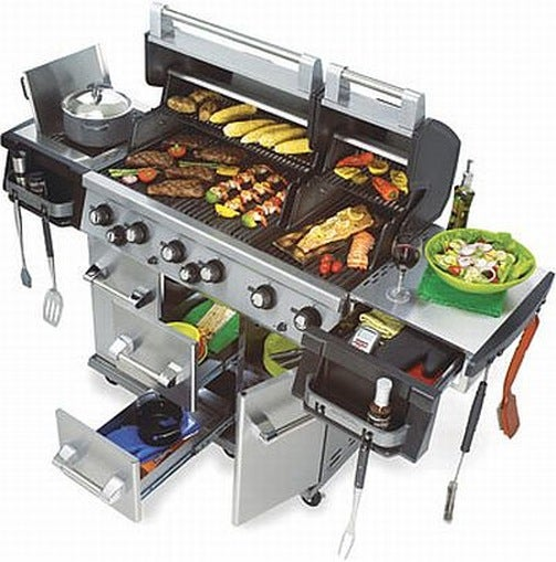 Intimidate Neighbors And Cook Their Food With Uber Manly Imperial Grill XL