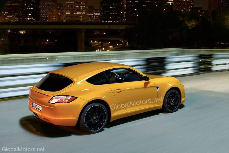 Porsche Hatchback Rendering Fulfills Unrealistic Cheap Bruce Fantasies