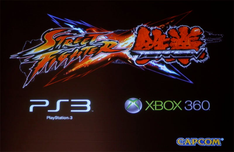 Street Fighter X Tekken, Tekken X Street Fighter Revealed At Comic-Con
