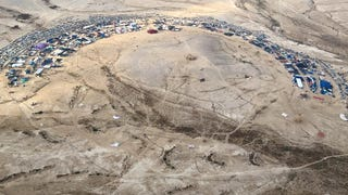 An Archaeological Site Was Accidentally Torched At Israel's Burning Man