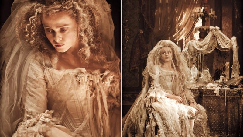 Here's Helena Bonham Carter As The Creeptastic Character She Was Born To Play: Miss Havisham