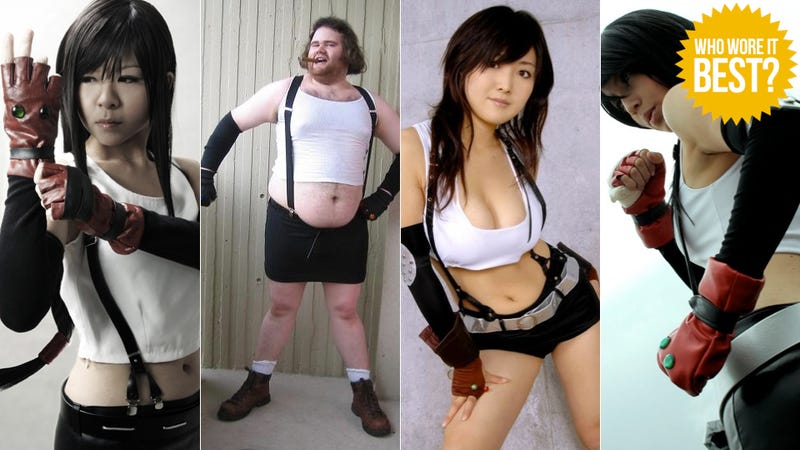 You Think You Can Hold Up Tifa's Suspenders?