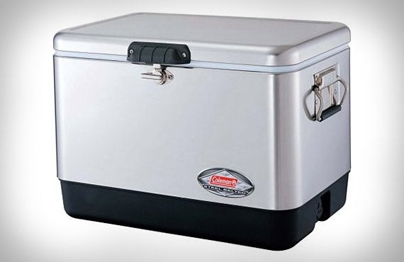Coleman's Steel Belted Chest Cooler Isn't Messing Around