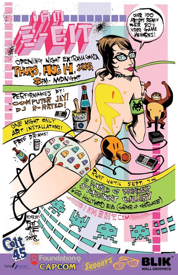 I Am 8-Bit 08 Art Show Opens Next Week