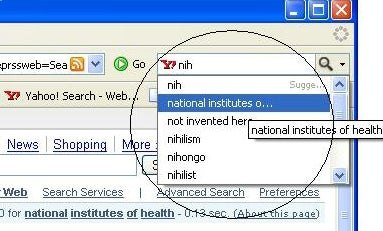 Suggest as-you-type built into Firefox 2.0 Beta 1