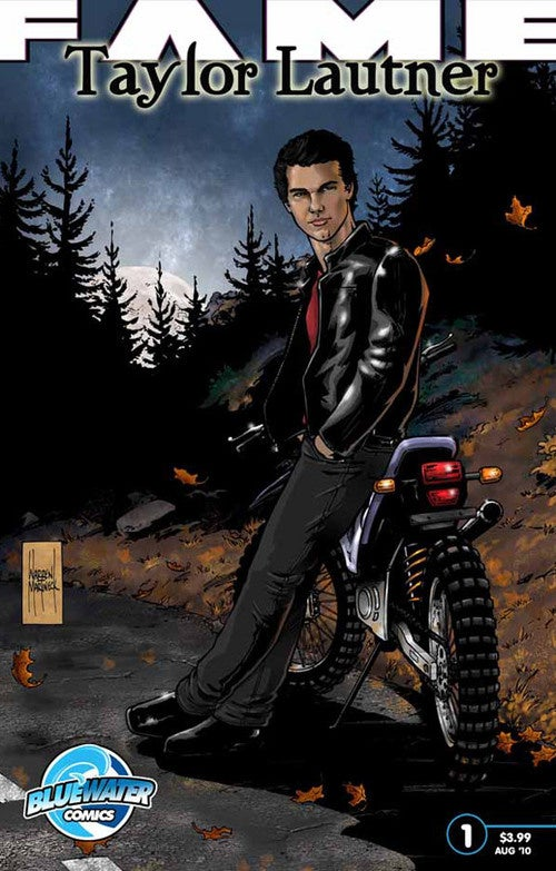 Taylor Lautner Rendered Less-Than-Hot In Comic