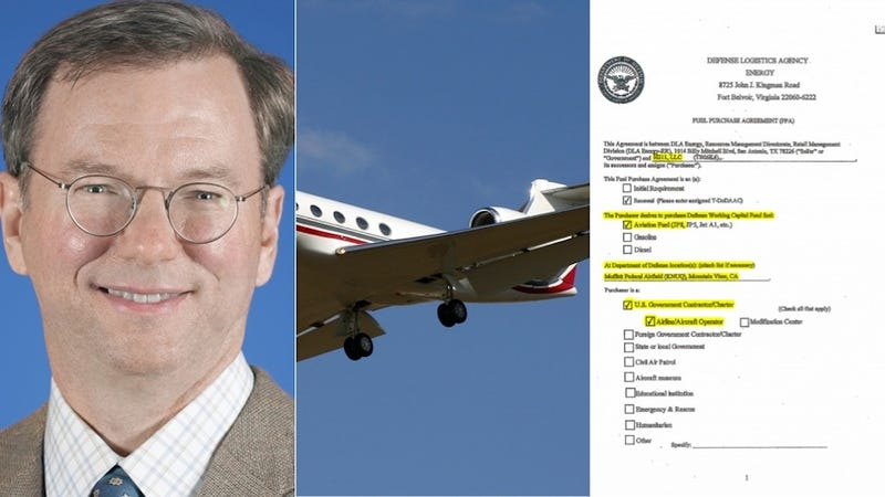 Google Execs Have Been Flying to Nantucket With Taxpayer Jet Fuel