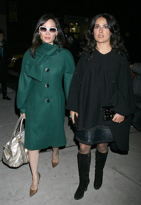 Lucy Liu & Salma Hayek: The Blind Leading The Bland?