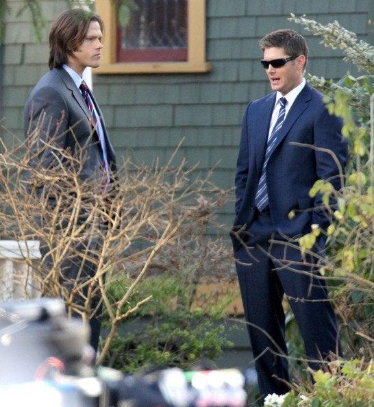 Supernatural Set Pics