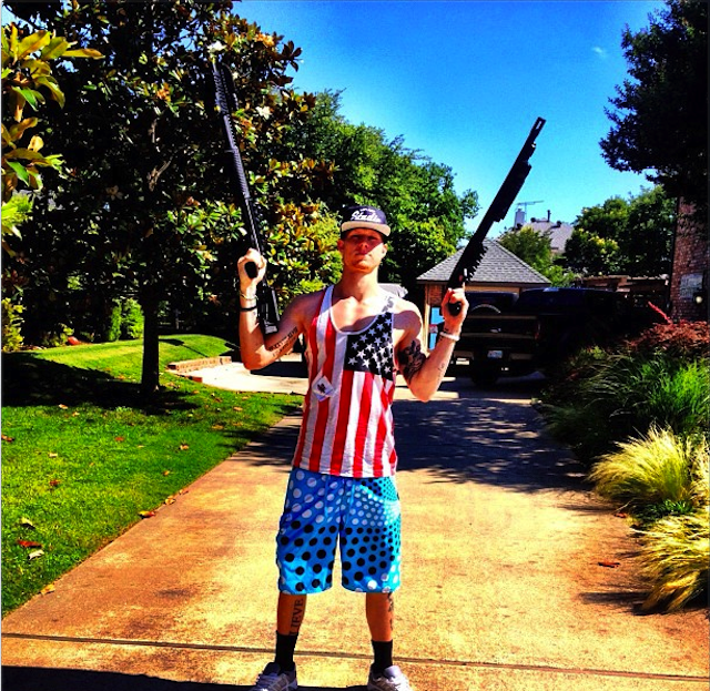 Brek Shea Posted—Then Quickly Deleted—This Very American Photo