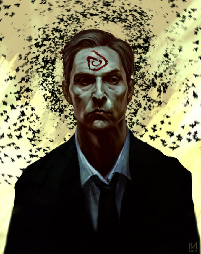 Say Goodbye To True Detective With This Beautiful Fan-Created Art