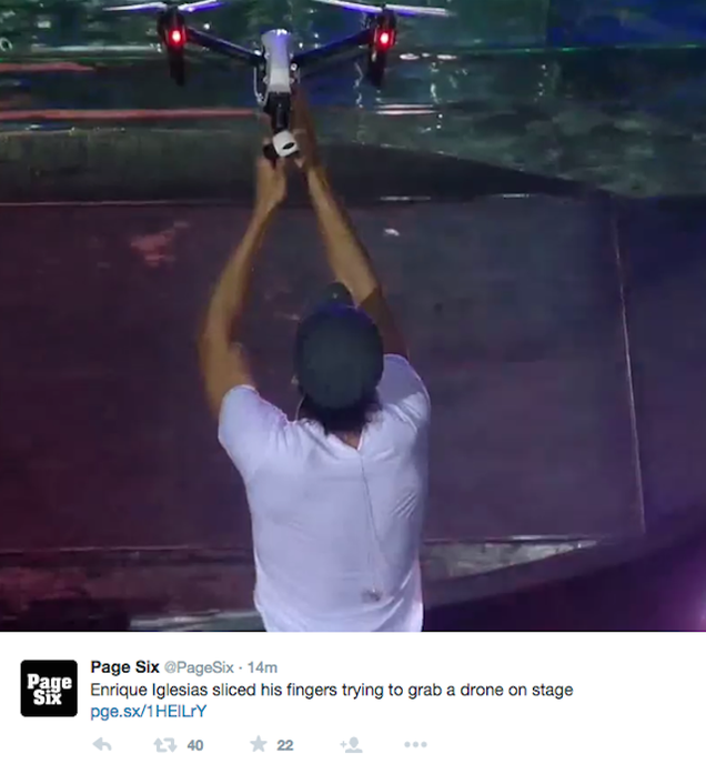 Guys, Grabbing Drones Out of Mid-Air is a Very Stupid Thing to Do