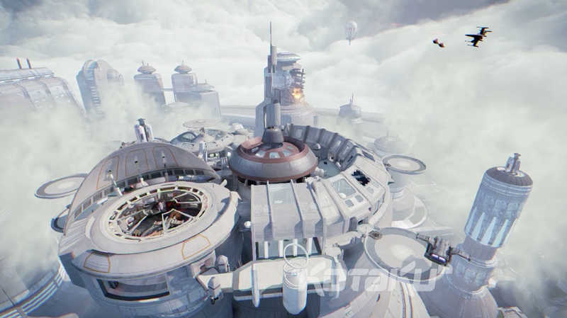 More Leaked Screenshots From Star Wars: First Assault Show A Glorious Cloud City