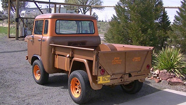 Rare And Affordable Vintage Forward Control Jeep Has It All