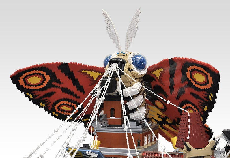 It's a Bird, It's a Plane... It's Giant Lego Mothra!