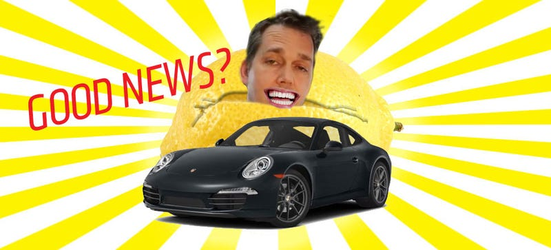 "Victory! Porsche Says They'll Buy ""Lemon 911"" Guy's Car Back"