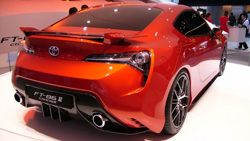 The Toyota FT-86 is the perpetual concept car