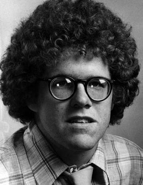 Peter King Was All Curly Hair And Giant Glasses In 1978