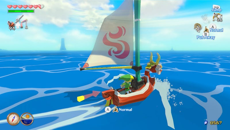 Sounds Like Zelda: Wind Waker HD Comes With A Lot Of Changes