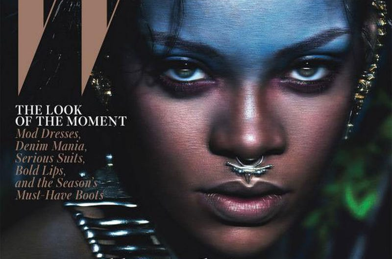 Is Rihanna's W Magazine Cover a Cause for Debate?