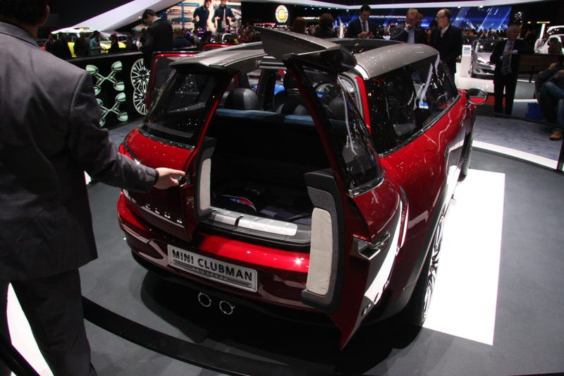 I Just Can't Decide How I Feel About The Mini Clubman Concept