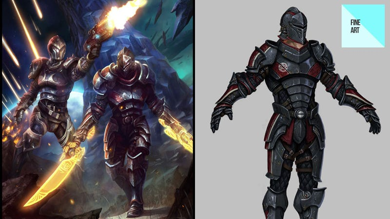 Daarken's Fantasy Art Has Shades of Mass Effect