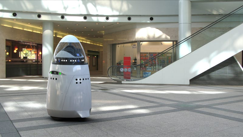 In the future, mall cops will look like R2-D2