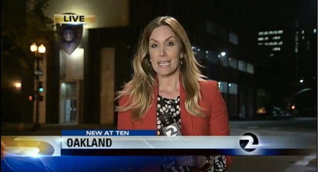 Reporter's Purse Stolen Outside Police Station During Story on Robbery