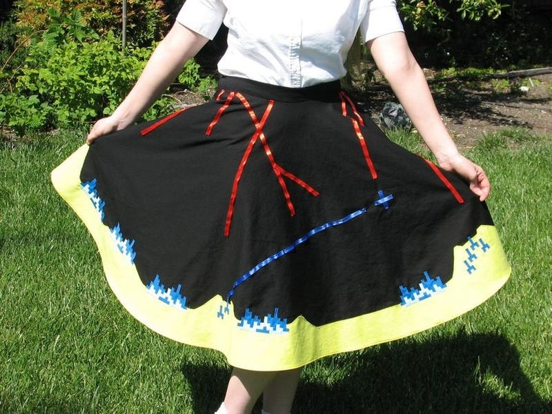 Missile Command Up Skirt