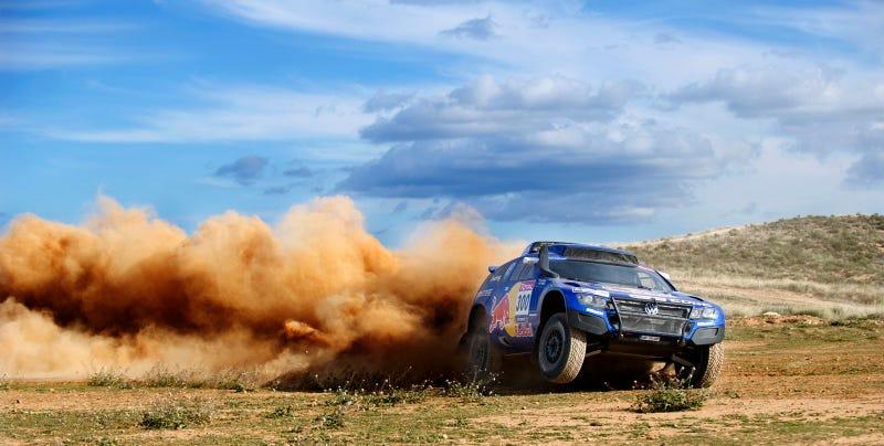 Carlos Sainz Dakar Practice