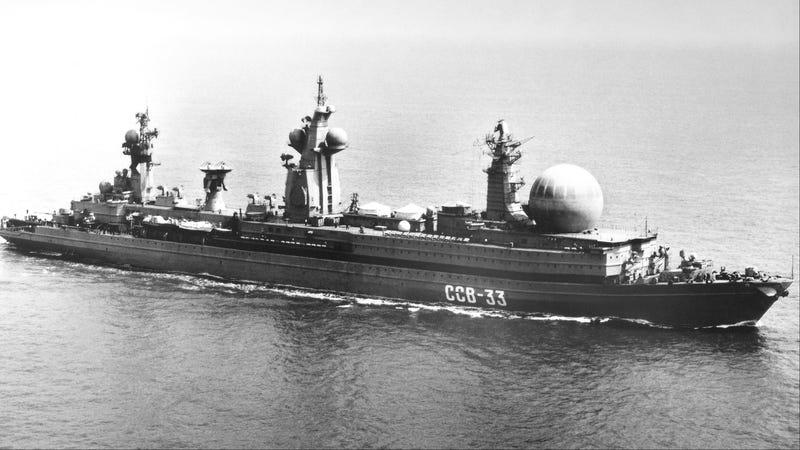 How Russia Built a Ship Too Big to Set Sail