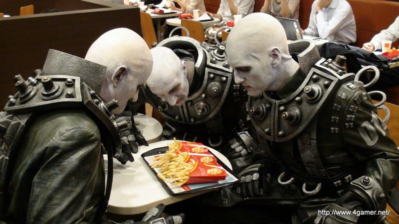 Lethal Resident Evil Enemies, Eating French Fries and Hanging Out