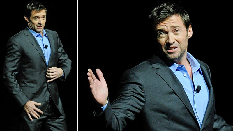 Hugh Jackman Peed His Pants Onstage