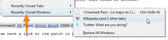Undo Closed Window Coming in Firefox 3.5