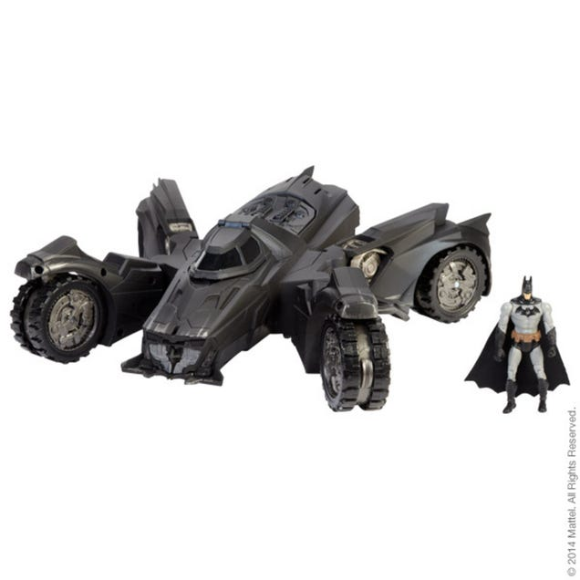 The New $80 Arkham Knight Batmobile Toy