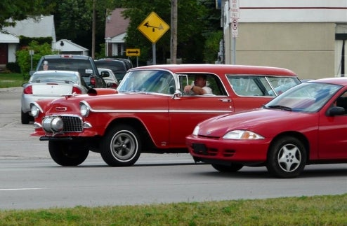 Cruisers Converge, Pity Those Who Commute On Woodward