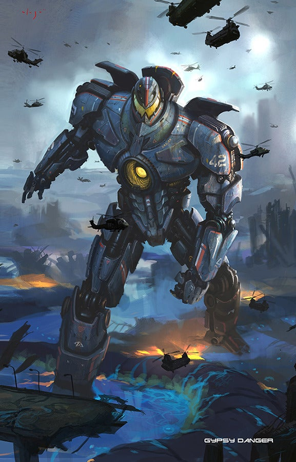 The Art Of The Giant Robots Of Pacific Rim