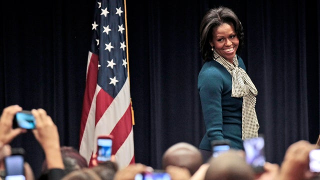 MObama Prefers Comfy Fashions, Worries We'll See Her Underwear
