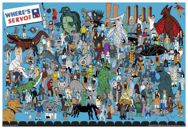 """Where's Servo?"" Is The Greatest MST3K Poster Of All Time"