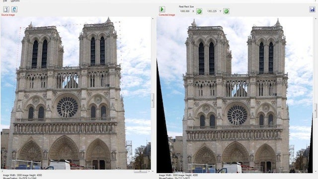 Perspective Image Correction Fixes Your Tilted Photos