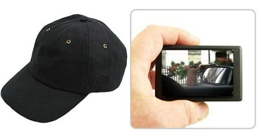 Baseball Cap With Hidden Camera Makes You Feel Sneaky