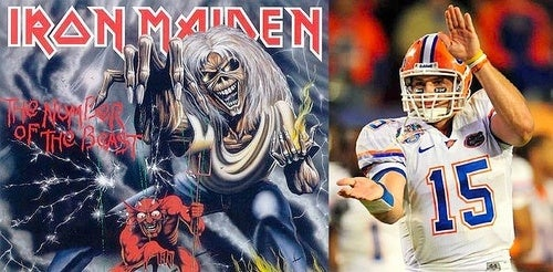 Tim Tebow At The Combine: A Revelation, Set To Iron Maiden