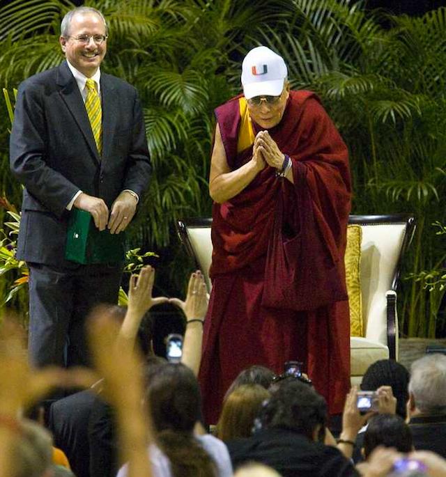 The Dalai Lama Is A Giant Bandwagoner
