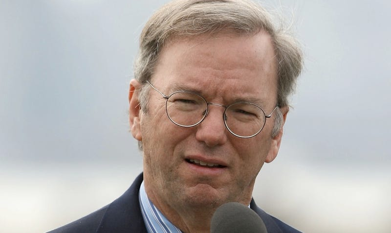 The Top Ten Things We Can't Believe Eric Schmidt Ever Said