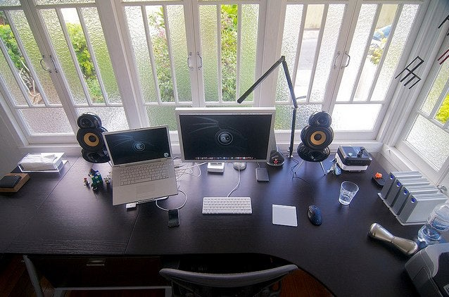 The Sun Room Workspace